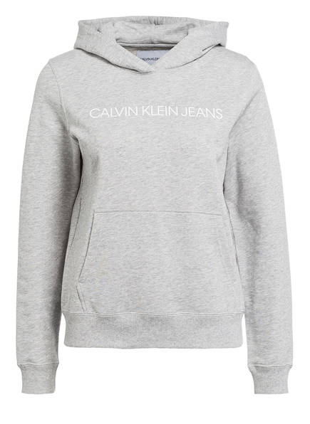 Calvin Klein Jeans Hoodie , Farbe: GRAU MELIERT (Bild 1)