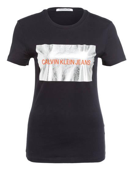 Calvin Klein Jeans T-Shirt, Farbe: SCHWARZ (Bild 1)