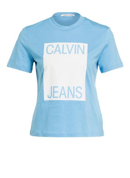 Calvin Klein Jeans T-Shirt, Farbe: HELLBLAU (Bild 1)