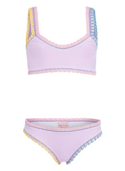 PILYQ Bustier-Bikini, Farbe: LILA (Bild 1)