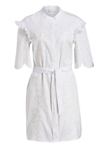 SPORTALM Kleid CARVE mit Stickereien, Farbe: WEISS (Bild 1)