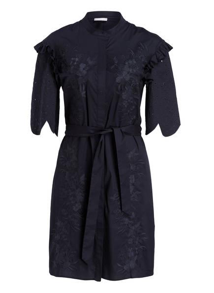 SPORTALM Kleid mit Stickereien, Farbe: DUNKELBLAU (Bild 1)