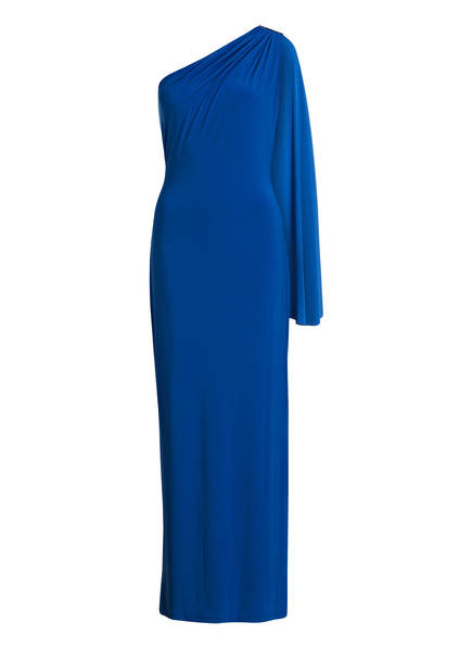 LAUREN RALPH LAUREN One-Shoulder-Kleid DELLAH, Farbe: BLAU (Bild 1)