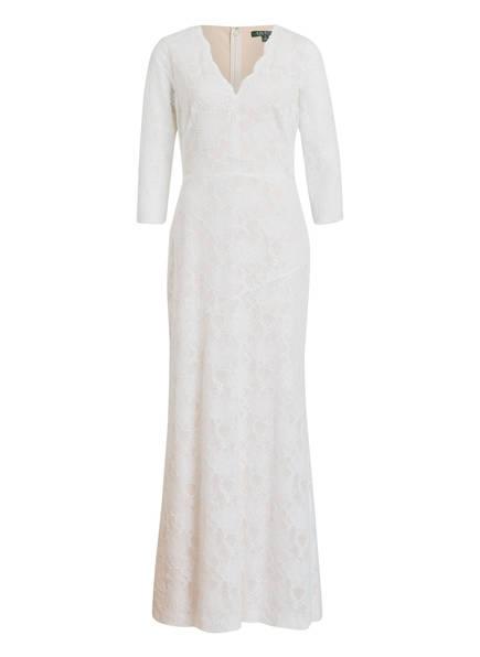 LAUREN RALPH LAUREN Kleid JERRI, Farbe: WEISS (Bild 1)