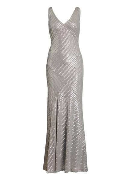LAUREN RALPH LAUREN Kleid KENDALYN mit Paillettenbesatz, Farbe: GRAU (Bild 1)