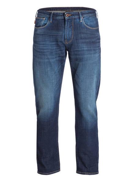 EMPORIO ARMANI Jeans Straight Fit, Farbe: DARK BLUE (Bild 1)