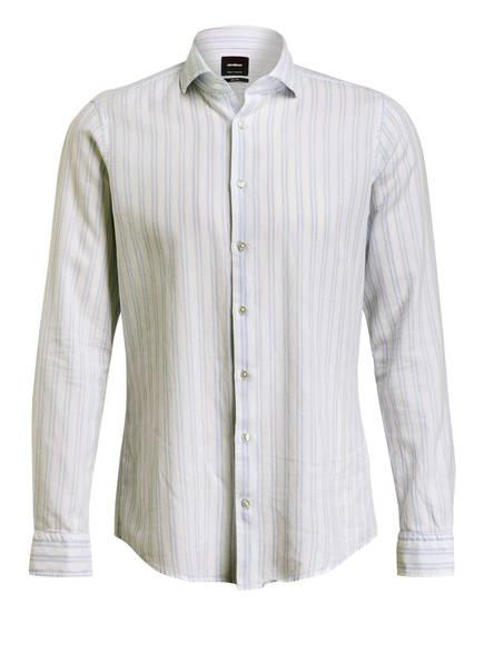 strellson Hemd SERENO Slim Fit, Farbe: WEISS/ HELLBLAU GESTREIFT (Bild 1)
