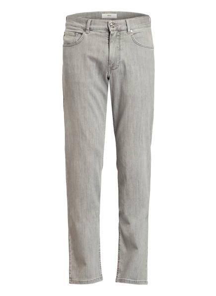 BRAX Jeans COOPER Regular Fit, Farbe: 07 LIGHT GREY USED (Bild 1)
