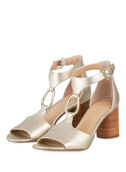 LAUREN RALPH LAUREN Sandaletten ELESIA, Farbe: GOLD (Bild 1)