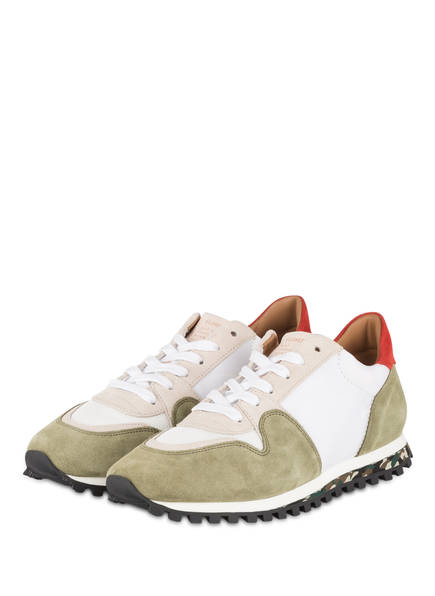 CLOSED Sneaker, Farbe: GRÜN/ WEISS (Bild 1)