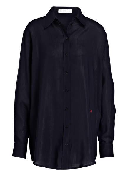 VICTORIABECKHAM Oversized-Bluse , Farbe: DUNKELBLAU (Bild 1)