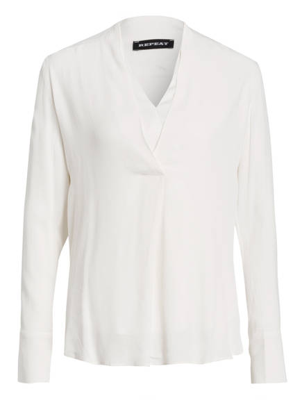 REPEAT Blusenshirt, Farbe: WEISS (Bild 1)