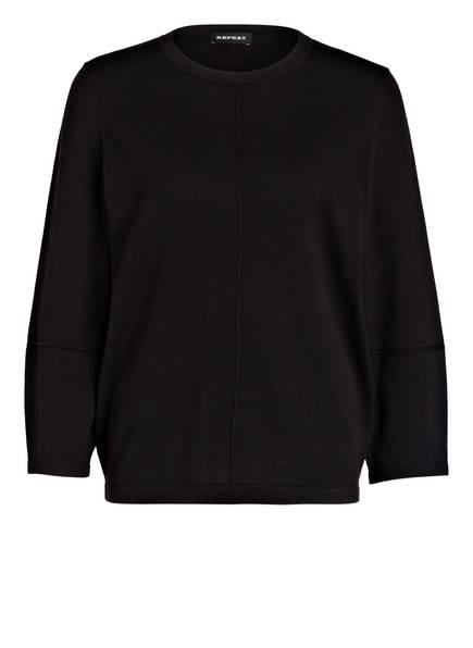 REPEAT Pullover , Farbe: SCHWARZ (Bild 1)