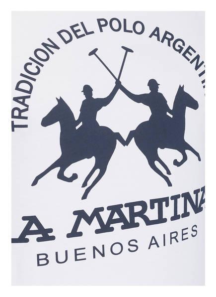 Weiss La Martina Martina La shirt T T shirt xvT066