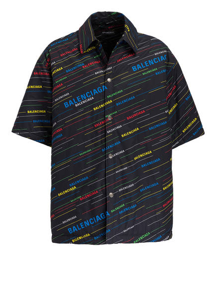 BALENCIAGA Oversized-Hemd Comfort Fit, Farbe: SCHWARZ (Bild 1)
