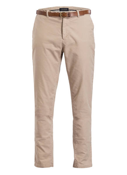 SCOTCH & SODA Chino WARREN Regular Straight Fit, Farbe: BEIGE (Bild 1)