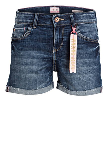 VINGINO Jeansshorts DIONA, Farbe: DEEP DARK BLUE (Bild 1)