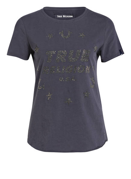 TRUE RELIGION T-Shirt, Farbe: DUNKELGRÜN (Bild 1)