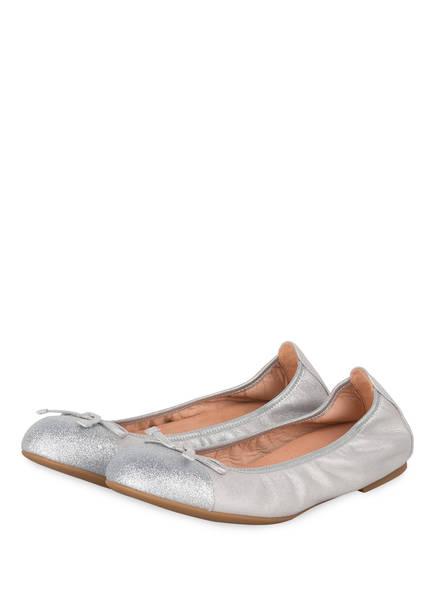 UNISA Ballerinas AUTO, Farbe: SILBER (Bild 1)