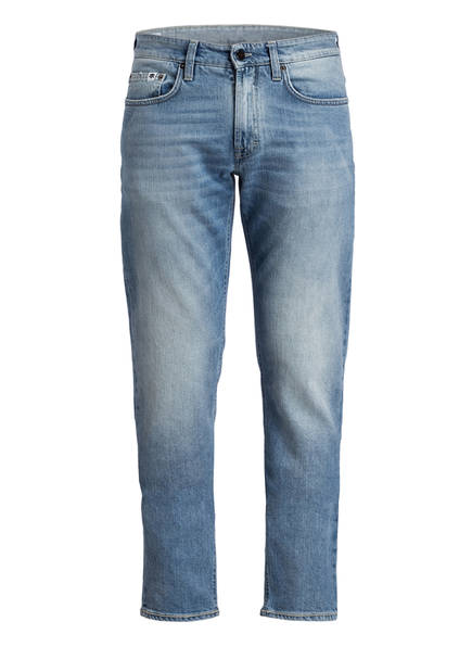 FHP Jeans KARL Tapered Fit, Farbe: STONEWASHED BLUE (Bild 1)