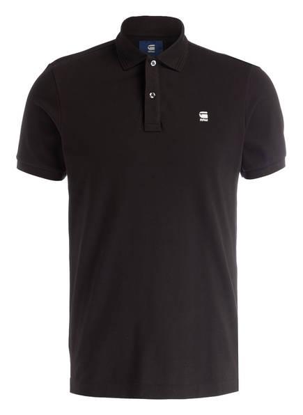 G-Star RAW Piqué-Poloshirt DUNDA Slim Fit , Farbe: SCHWARZ (Bild 1)