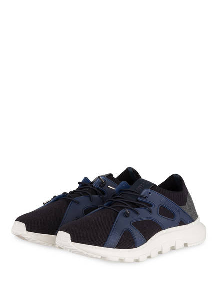 ZZegna Sneaker, Farbe: DUNKELBLAU/ BLAU (Bild 1)