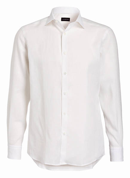 Ermenegildo Zegna Leinenhemd Regular Fit, Farbe: WEISS (Bild 1)