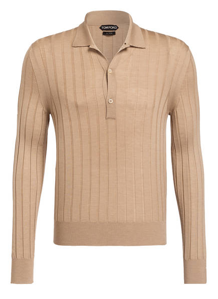 TOM FORD Cashmere-Poloshirt, Farbe: BEIGE (Bild 1)