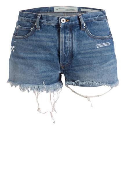 OFF-WHITE Shorts, Farbe: MEDIUM BLUE WASH (Bild 1)