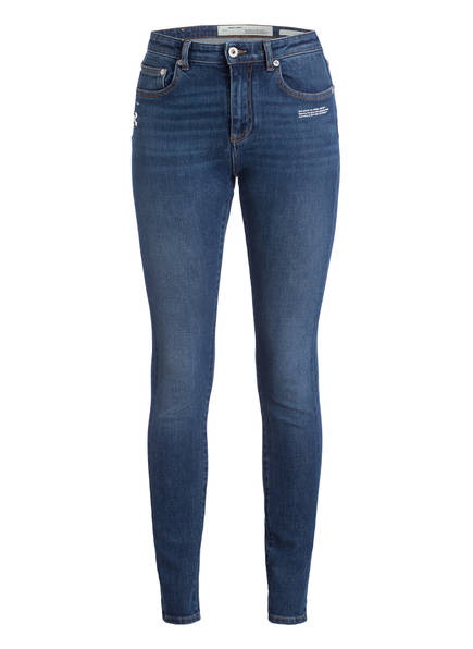 OFF-WHITE Skinny-Jeans, Farbe: MEDIUM BLUE WASH MEDIUM BLUE WASH (Bild 1)