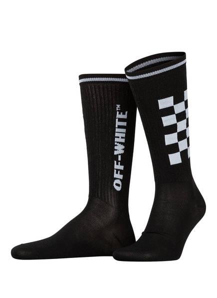 OFF-WHITE Socken TAXI, Farbe: SCHWARZ (Bild 1)