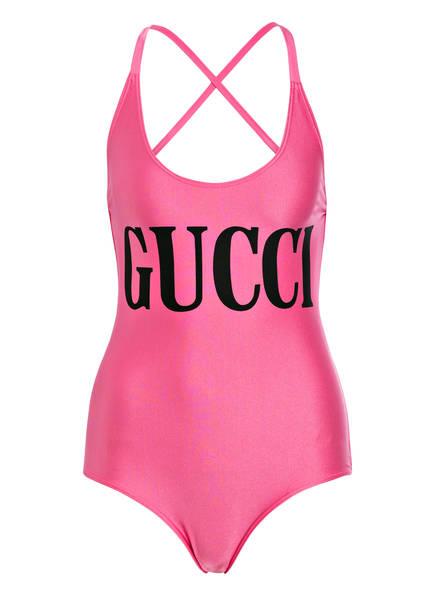 GUCCI Badeanzug, Farbe: PINK (Bild 1)