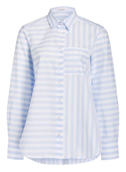 Soluzione Oversized-Bluse, Farbe: HELLBLAU/ WEISS (Bild 1)