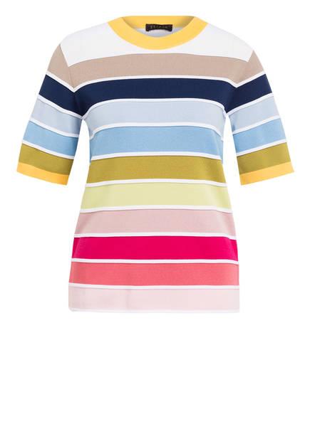 ESCADA Pullover SERUS mit 3/4-Arm, Farbe: WEISS/ BLAU/ GRÜN (Bild 1)