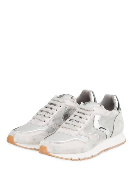 VOILE BLANCHE Plateau-Sneaker JULIA, Farbe: SILBER (Bild 1)