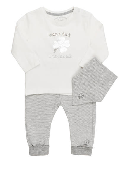 s.Oliver Baby-Starter-Set JUST ARRIVED , Farbe: WEISS/ GRAU (Bild 1)