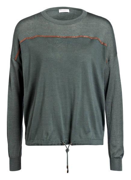 BRUNELLO CUCINELLI Pullover, Farbe: GRÜN (Bild 1)
