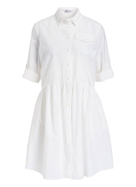 BRUNELLO CUCINELLI Blusenkleid, Farbe: WEISS (Bild 1)