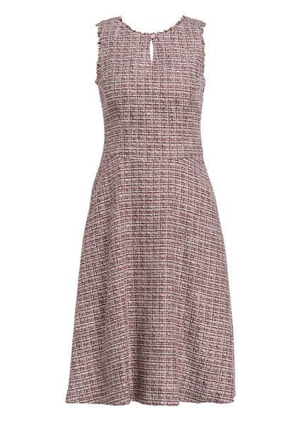 gössl Bouclé-Kleid , Farbe: ROT/ LILA/ WEISS (Bild 1)