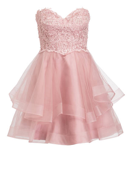 LAONA Bandeau-Kleid mit Tüll, Farbe: ROSÉ (Bild 1)