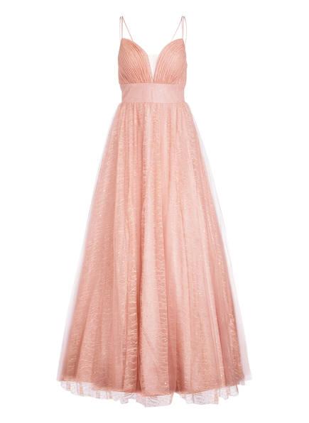 unique Abendkleid mit Stola, Farbe: ROSA (Bild 1)
