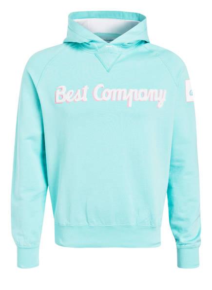Best Company Hoodie, Farbe: TÜRKIS (Bild 1)