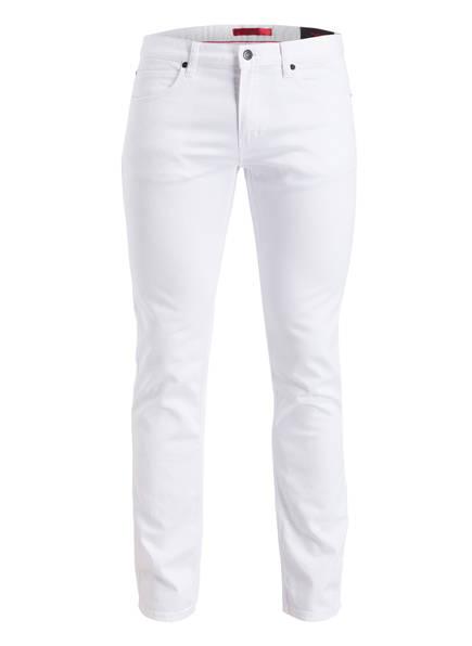 HUGO Jeans HUGO 708 Slim Fit , Farbe: 100 WHITE (Bild 1)