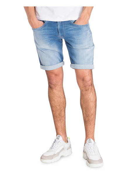 Jeans Slim Blue Hyperflex Light Replay Fit shorts Anbass TC8dcxwq