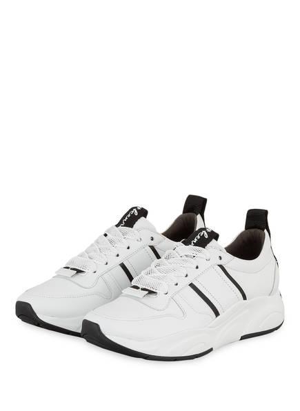 KENNEL & SCHMENGER Sneaker CALF, Farbe: SCHWARZ/ WEISS (Bild 1)