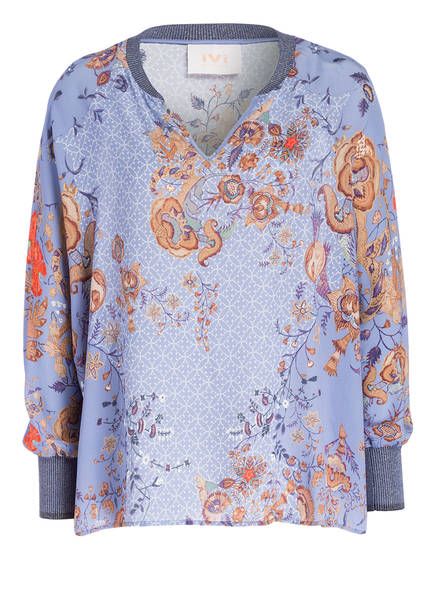 IVI collection Seidenshirt INDIAN FLOWER, Farbe: HELLLILA (Bild 1)