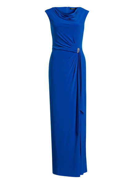 LAUREN RALPH LAUREN Jerseykleid SHAYLA, Farbe: BLAU (Bild 1)