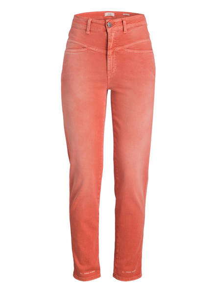 CLOSED Mom-Jeans PEDAL PUSHER, Farbe: HELLROT (Bild 1)
