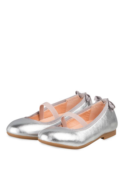 UNISA Ballerinas , Farbe: SILBER (Bild 1)