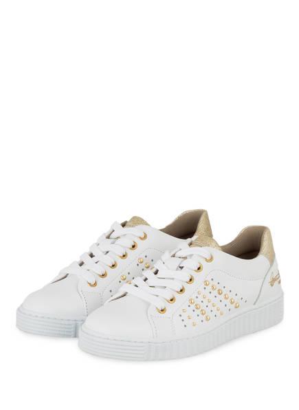 BULLBOXER Sneaker, Farbe: WEISS/ GOLD (Bild 1)